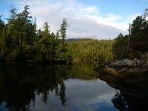 Entrada no Columbia Britânica Imagem de Stock Royalty Free
