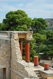 Entrada norte de Knossos Imagem de Stock