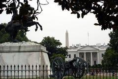 Entrada norte a Whitehouse Fotos de Stock Royalty Free