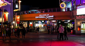 Entrada a Orlando Resort universal, Orlando, FL Imagenes de archivo
