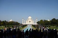 Entrada pública de Taj Mahal Gardens em Agra, Índia Fotografia de Stock Royalty Free