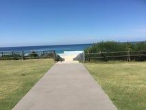 Entrada, paisaje, playa Imágenes de archivo libres de regalías