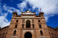 Entrada para los las Ventas de Plaza de Toros de en Madrid fotografía de archivo