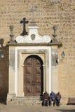 Entrada principal à cidade. Obidos. Portugal Fotos de Stock