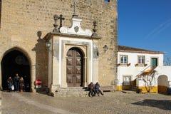 Entrada principal à cidade. Obidos. Portugal Imagens de Stock Royalty Free