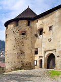 Entrada principal ao castelo velho (Starý Zámok) imagem de stock royalty free