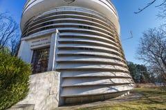 Entrada principal ao obervatório do Schain em Crimeia Foto de Stock