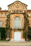 Entrada principal da mansão Fotografia de Stock