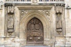Entrada principal de la abadía, baño Fotografía de archivo