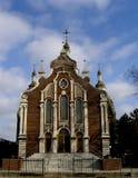 Entrada principal de la iglesia. Fotos de archivo