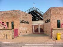 Entrada principal del museo de Civitella del La Foto de archivo libre de regalías