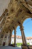 Entrada principal del palacio de Waldstein Foto de archivo libre de regalías