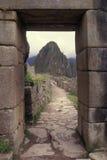Entrada principal a Machu Picchu, Peru Fotos de Stock