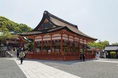 Entrada principal no santuário de Fushimi Inari Fotografia de Stock