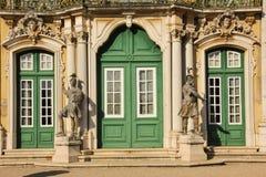 Entrada principal. Palace.Queluz.Portugal nacional Fotos de archivo libres de regalías