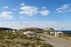 Entrada a Punta Loma National Park, Argentina foto de stock royalty free