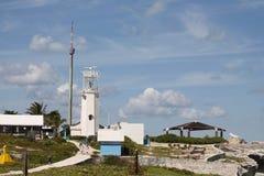 Entrada a Punta Sur em Isla Mujeres fotografia de stock royalty free