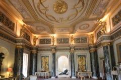 A entrada salão grande na casa de Syon fotografia de stock royalty free