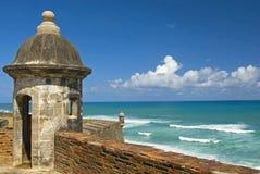 Entrada a San Juan velho Fotografia de Stock Royalty Free