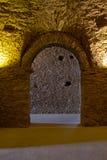 Entrada - Sant Pere de Rodes Monastery foto de archivo
