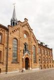 Entrada a St Knuds fotos de archivo libres de regalías