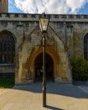 Entrada sul da lâmpada da fachada da igreja de trindade santamente Imagens de Stock Royalty Free