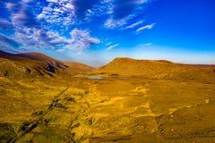A entrada sul no parque nacional de Glenveagh ? um Gem County escondido real Donegal, Irlanda imagem de stock