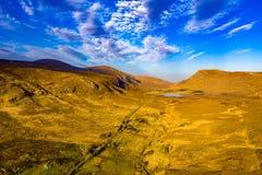 A entrada sul no parque nacional de Glenveagh ? um Gem County escondido real Donegal, Irlanda foto de stock royalty free