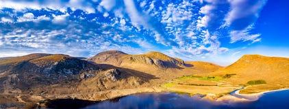 A entrada sul no parque nacional de Glenveagh ? um Gem County escondido real Donegal, Irlanda imagem de stock royalty free