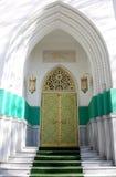 Entrada típica de la mezquita Fotos de archivo