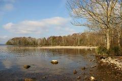Entrada tranquila en el lago Derg Imagen de archivo libre de regalías