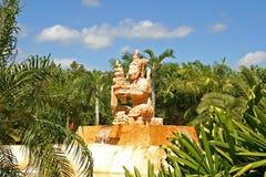 Entrada tropical do recurso Fotografia de Stock Royalty Free