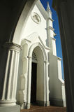 Entrada a uma igreja Foto de Stock Royalty Free