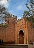 Entrada un'en Rabat di Necropolis de Chellah della La fotografia stock libera da diritti