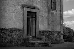 Entrada velha da casa Foto de Stock Royalty Free