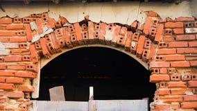 Entrada velha para o moinho da maré Fotografia de Stock