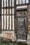 Entrada vieja hermosa en Honfleur Normandía Fotos de archivo libres de regalías