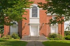 Entrada y pasos de progresión de la iglesia Foto de archivo