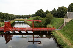 Entrada y puente Imagen de archivo