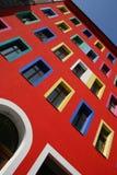 Entrada y ventanas Imagen de archivo libre de regalías