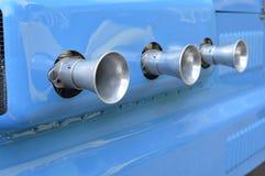 Entradas de ar do carburador do veículo Fotografia de Stock Royalty Free