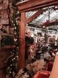 Entradas e decoração de madeira do feriado Imagens de Stock