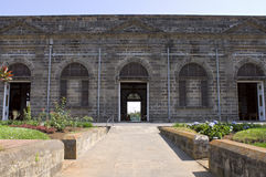 Entradas laterais à igreja de Palmares Foto de Stock