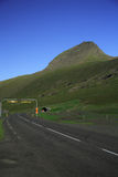 Entrance. The entrance to Iceland's longest road tunnel Royalty Free Stock Photo