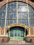 Entrance. Of an Art Nouveau Machine Shop of a Coal Mine Zeche Zollern, Dortmund, Germany Royalty Free Stock Photo