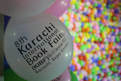 Entrance 8th Karachi international Book Fair Stock Photography