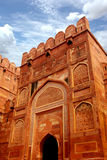 Entrance of Agra Fort , India Stock Images