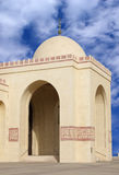 Entrance of Al Fateh Mosque in bahrain Stock Photo