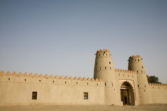 Entrance Of Al Jahli Fort Stock Images