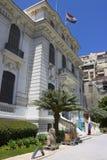 Entrance of the Alexandria national museum Stock Photos